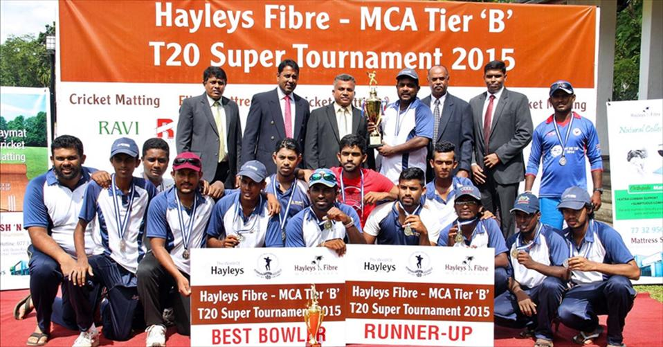 Vallibel Finance clinch MCA Tier B T20 title