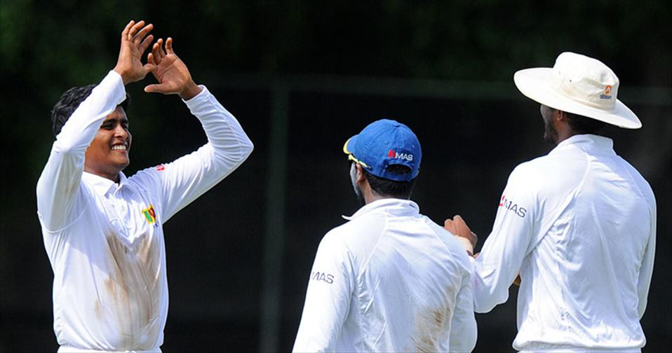 Vandersay & Lakshan Shine as SL A seal the series