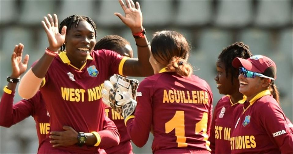 WI Women go over the line to be in WT20 Womens finals