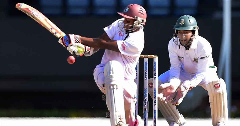 WI crush BD to finish 500th Test in style