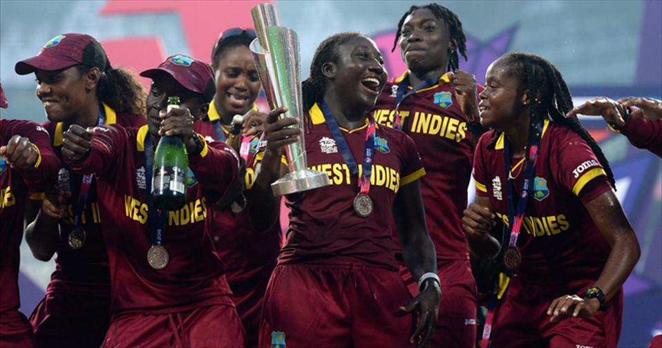 WI women Win maiden Title beating Aus
