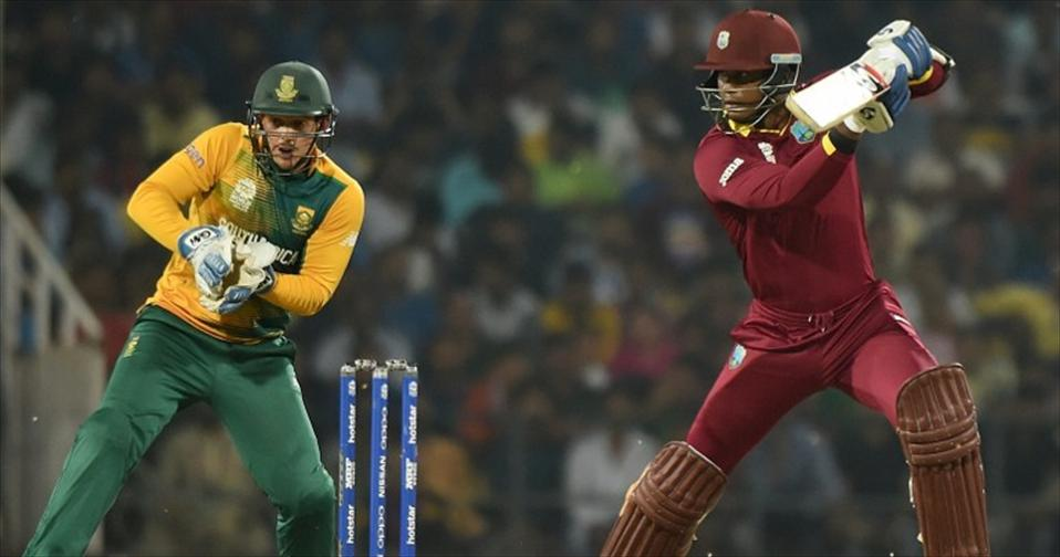 West Indies enter Semis after tense Chase