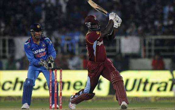 West Indies level the series 1-1