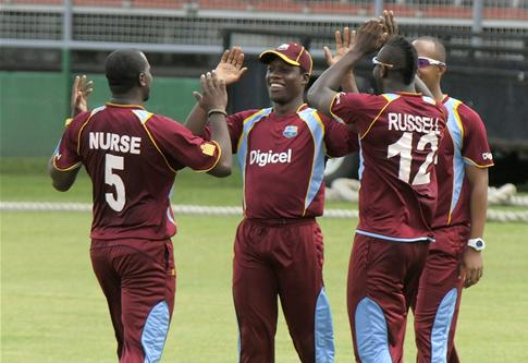 Windies-A draw level