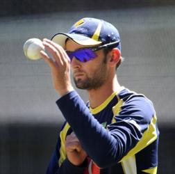 Nathan Lyon ending Australia's spin sequence