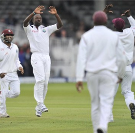 Windies sheltered historic series victory