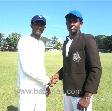 St.Thomas College, Matara get first innings points