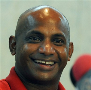 Sanath Jayasuriya ready for his dance pitch