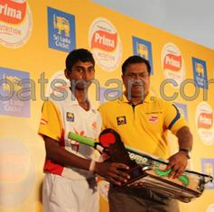 Ashen Deemantha  won the man of the series award