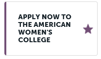 Apply Now The American Women's College Button