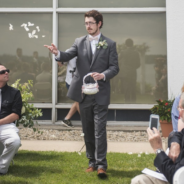 Flower Man Wedding Idea