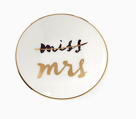 Newlywed Black Friday Deals | miss to mrs ring dish