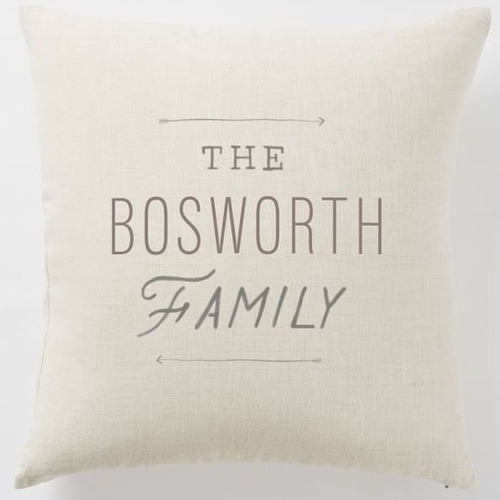 Newlywed Black Friday Deals | family pillow
