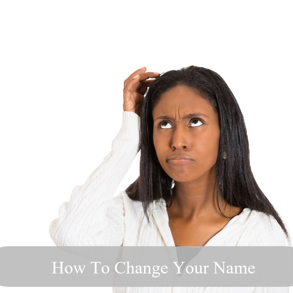 How To Change Your Name