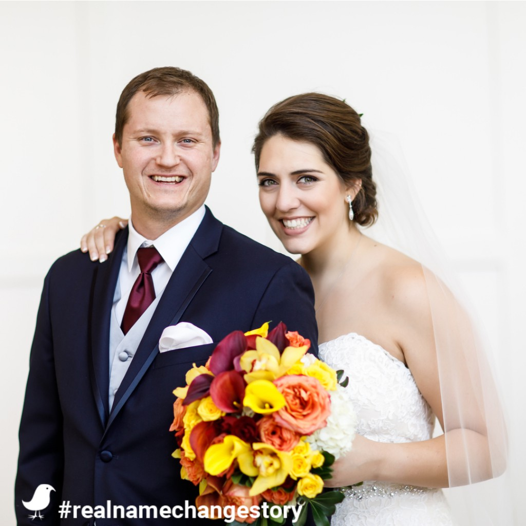 Robin's Real Married Name Change Story