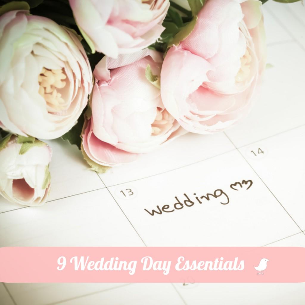 9 Wedding Day Essentials for Brides