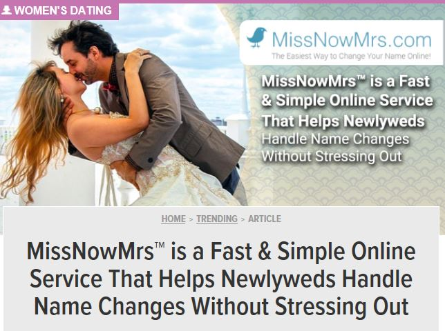 MissNowMrs Featured on Dating Advice