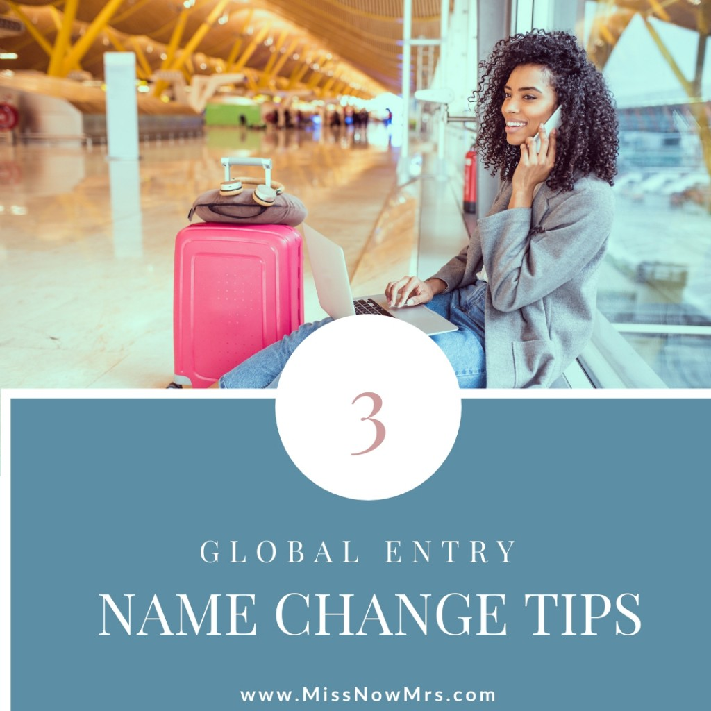 Global Entry Married Name Change