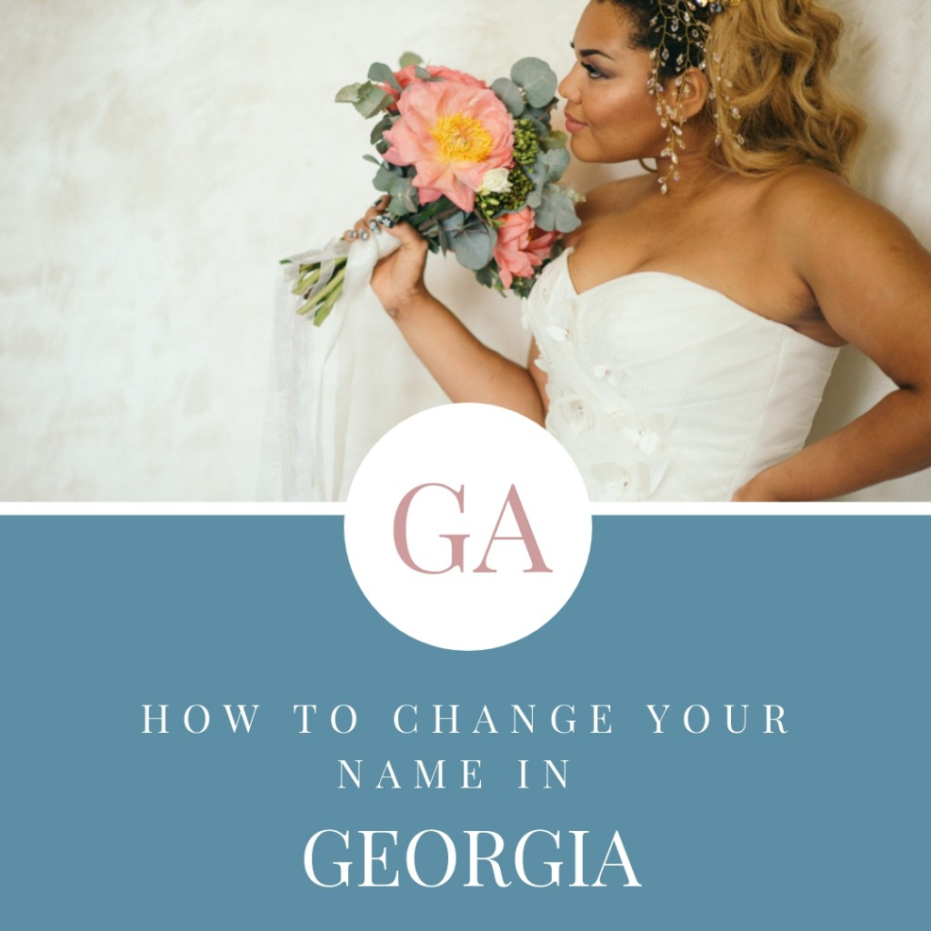 How to Change Your Name in Georgia