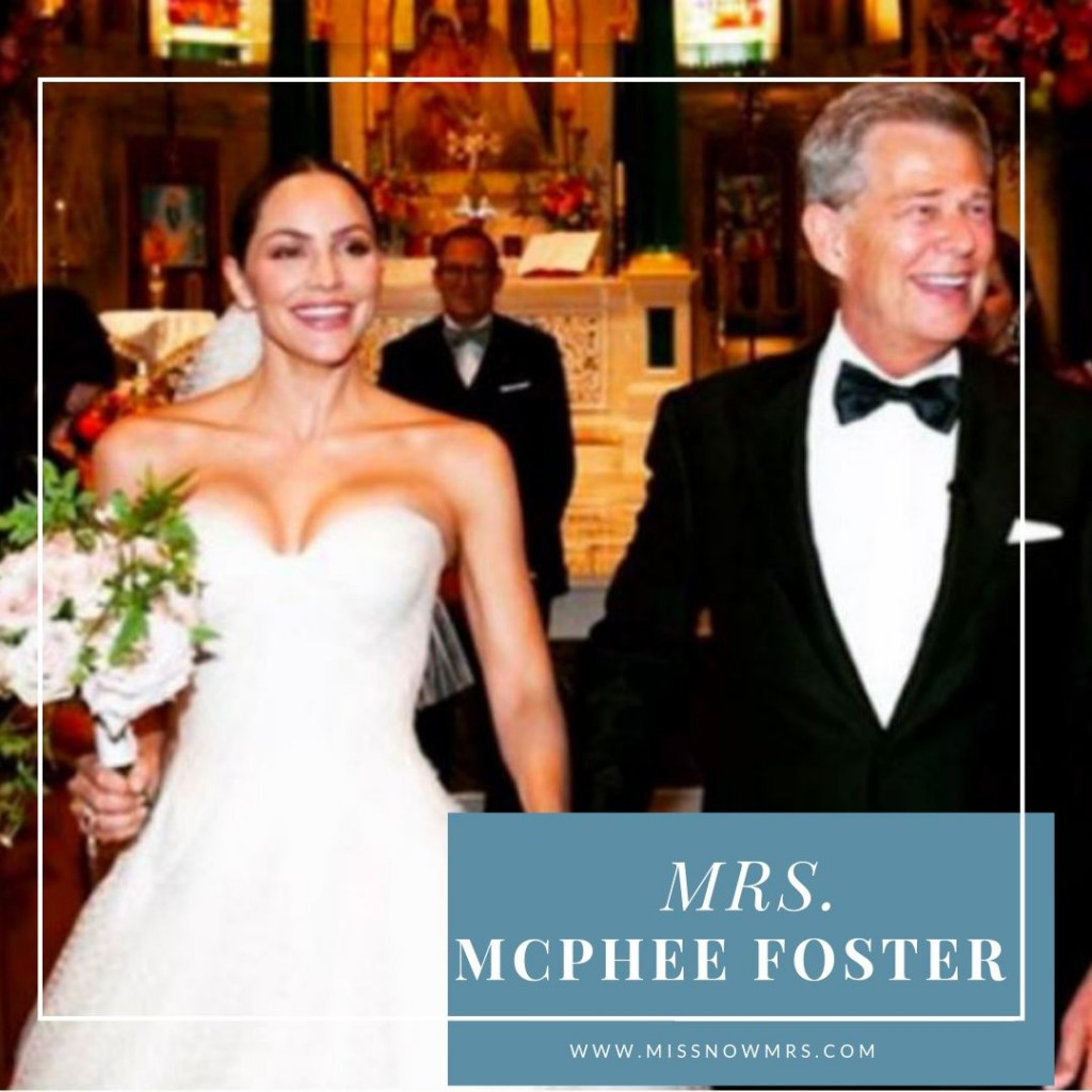 Katharine McPhee Married Name Change