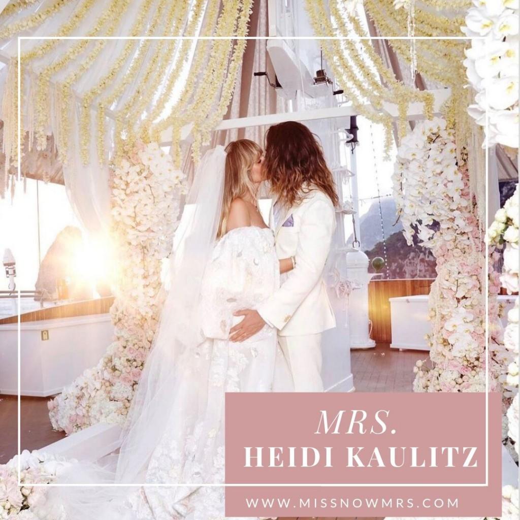 Heidi Klum's Married Name Change