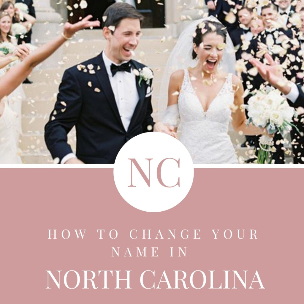 North Carolina Name Change Steps