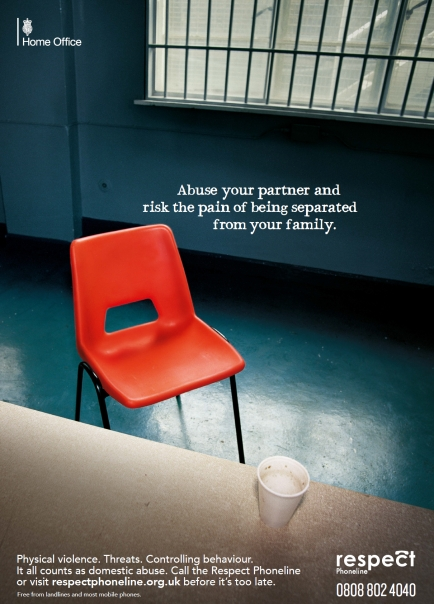 Home Office Domestic Violence Campaign Poster