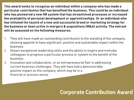 corporate contribution