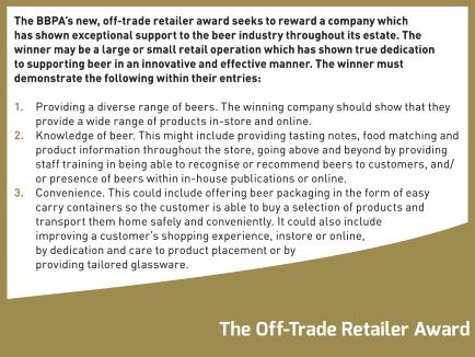 Off-trade retailer