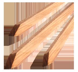 Bond Redwood Tree Stake 1 in x 1 in x 5 ft (25/Cs)