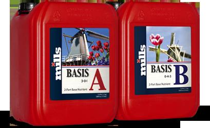 Mills Nutrients Basis A & B 5L