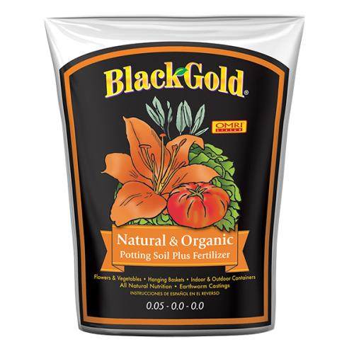 Black Gold Natural & Organic Potting Soil 1.5 cu ft (50/Plt)