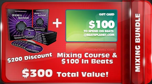 Mixing Course Bundle – $200 Off Mixing Course & $100 in Beats for $145