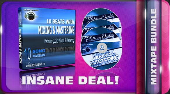 Mixtape Bundle – Mixing, Mastering & Beats