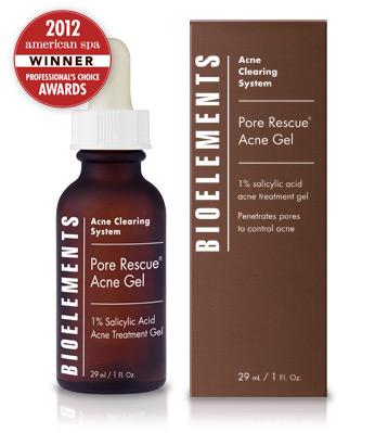 Bioelements Pore Rescue Acne Gel 1 oz