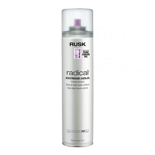 Rusk Radical Extreme Hold Finishing Hairspray 10 oz