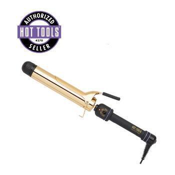 Hot Tools Gold Professional High Heat Extended Barrel Curling Iron