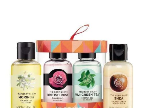 The Body Shop Shower Gel Gift Set
