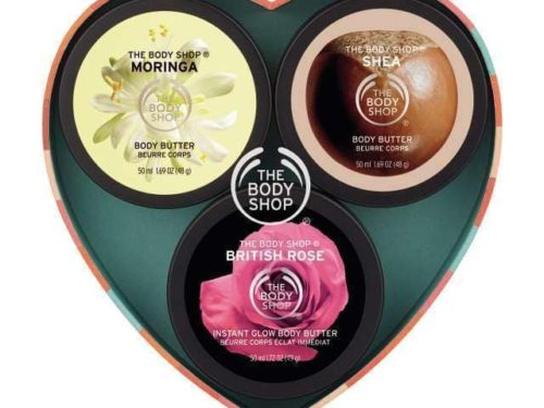 The Body Shop Body Butter Trio Gift Set