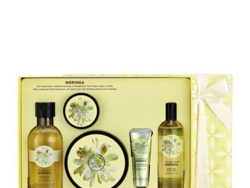 The Body Shop Moringa Premium Collection