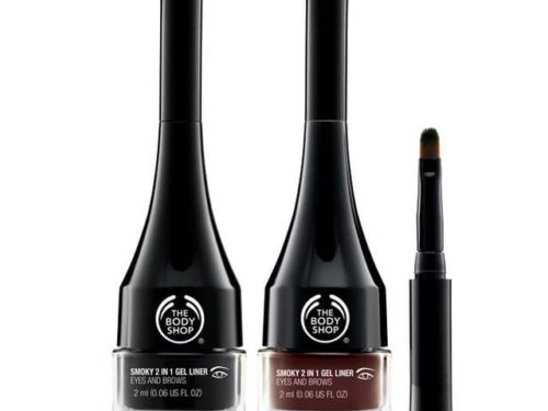 The Body Shop Smoky 2-in-1 Gel Eyeliner And Brow Definer