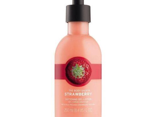 The Body Shop Strawberry Softening Puree Body Lotion