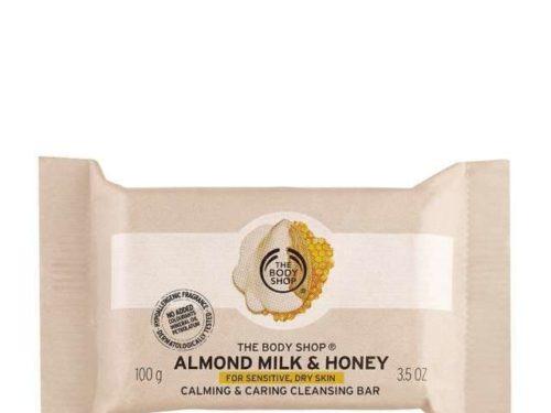 The Body Shop Almond Milk & Honey Cleansing Bar