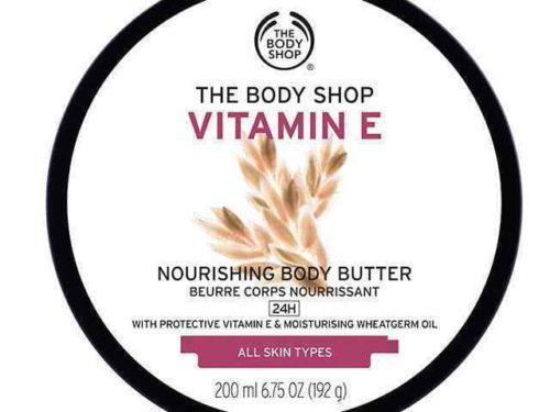 The Body Shop Vitamin E Nourishing Body Butter