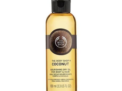 The Body Shop Coconut Nourishing Dry Oil For Body And Hair