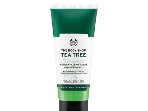 The Body Shop Tea Tree Squeaky-clean Exfoliating Face Scrub