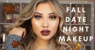 ROMANTIC FALL DATE NIGHT MAKEUP TUTORIAL