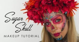Sugar Skull Makeup Tutorial With KIKO