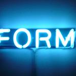 Leuchtstoff form