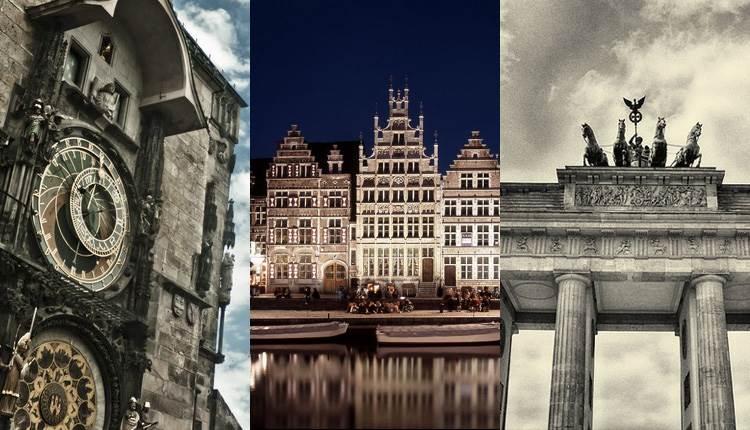 Las 3 mejores escapadas por Europa